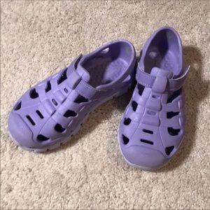 Stride Rite purple water shoes size 10